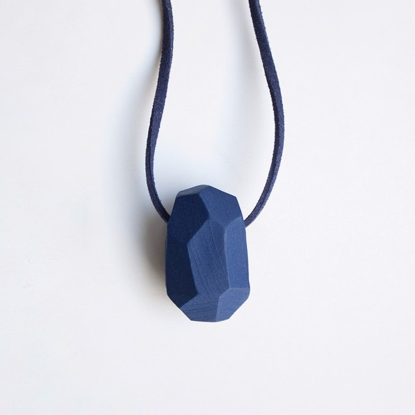 Picture of Deep Ocean Necklace 'Stones'