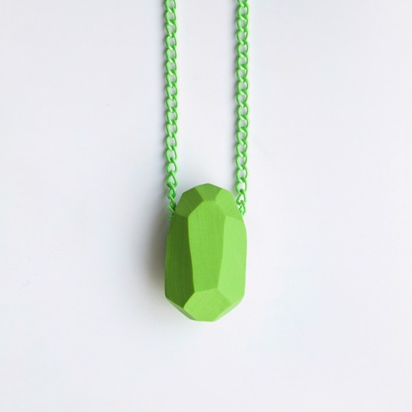 Picture of Grass Necklace 'Stones'
