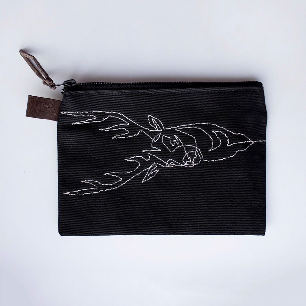 Picture of Deer Zipper Pouch