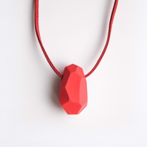 Picture of Strawberry Necklace 'Stones'