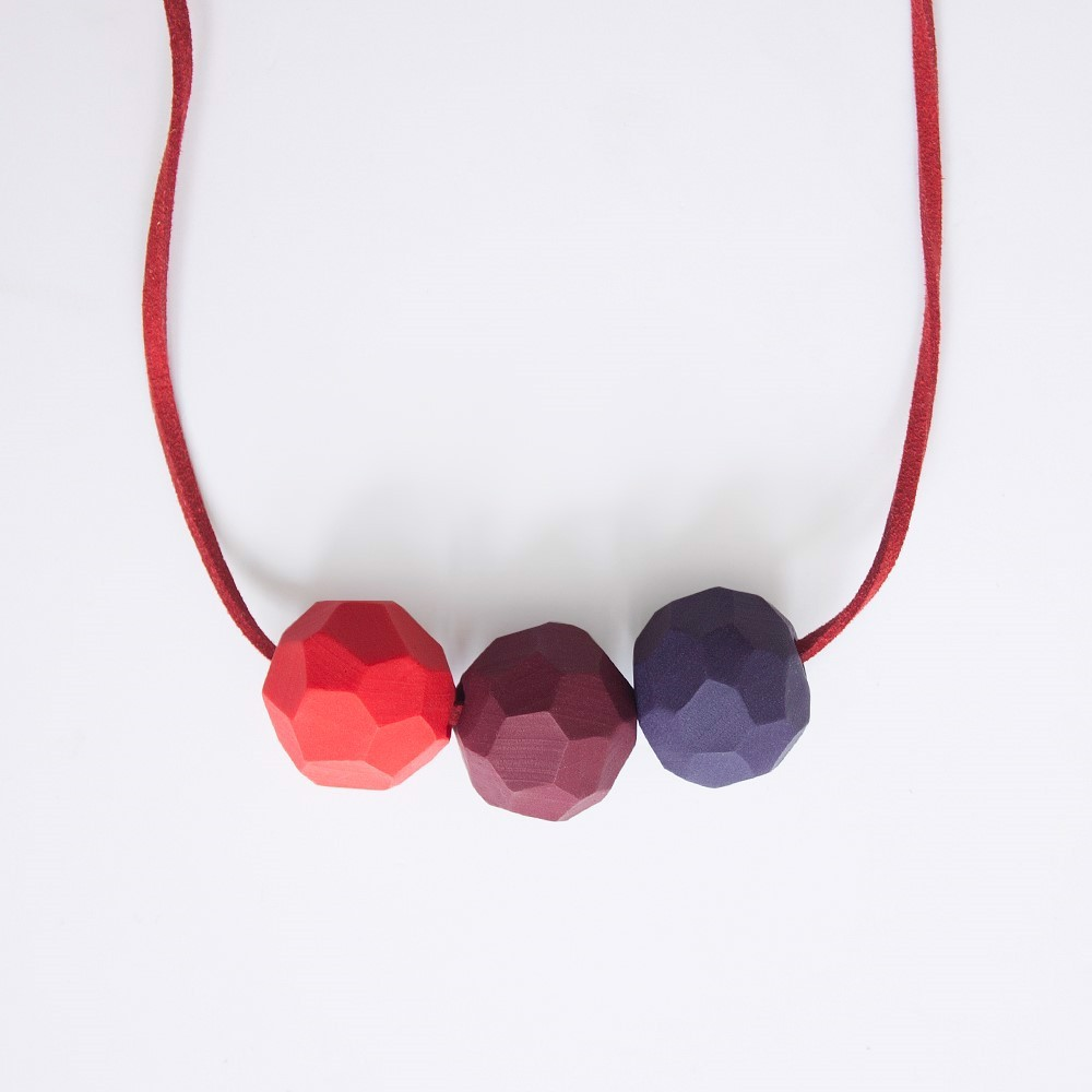 Picture of Berry Necklace 'Builder'