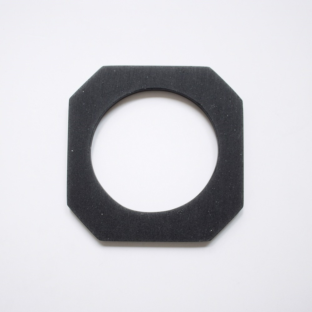 Picture of Black Octagon Bracelet 'Blend'