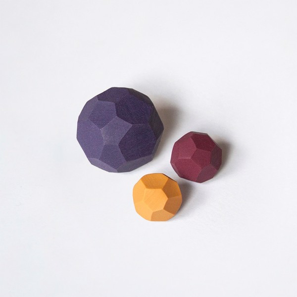 Picture of Autumn Brooch set 'Stones'