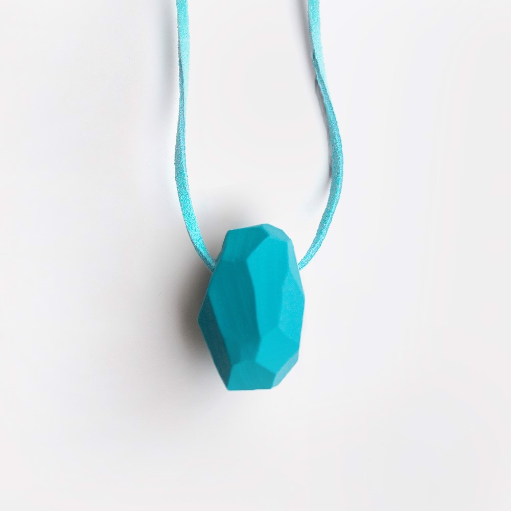 Picture of Turquoise Necklace 'Stones'