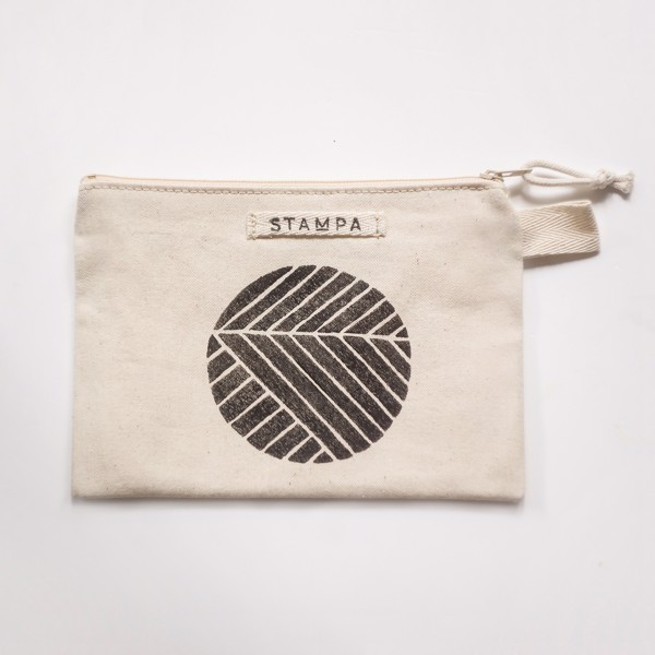 Picture of Circle Zipper Vegan Pouch