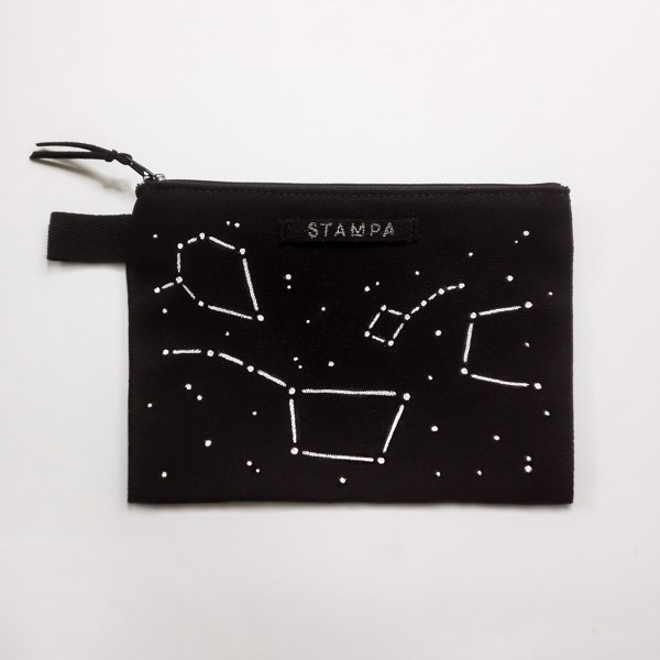 Picture of Constellations Zipper Vegan Pouch