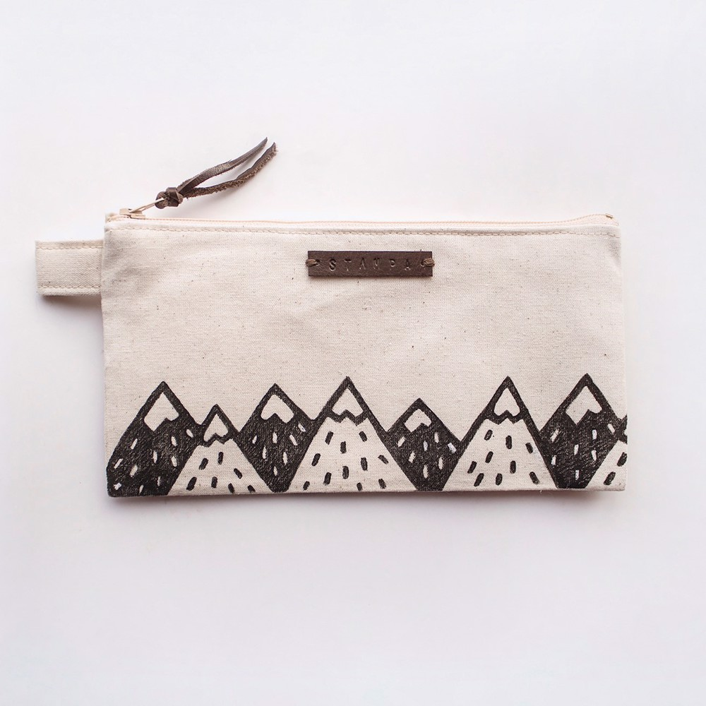 Picture of Long Mountains Zipper Pouch