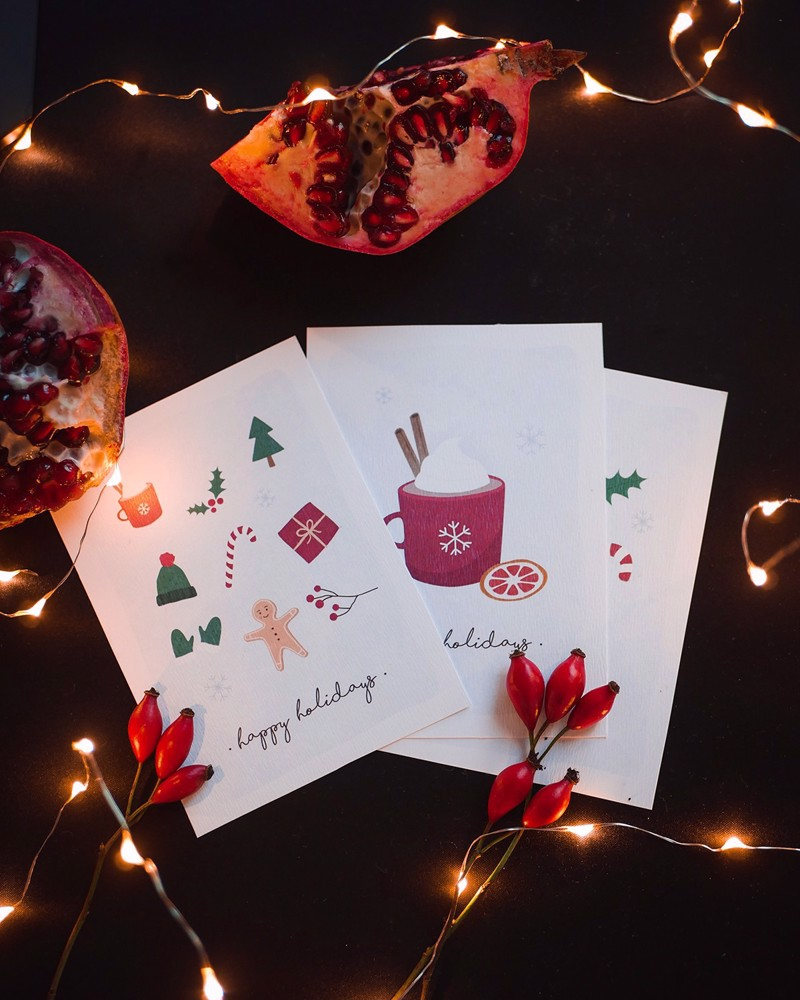 Picture of Winter Holidays Cards - Set of 3