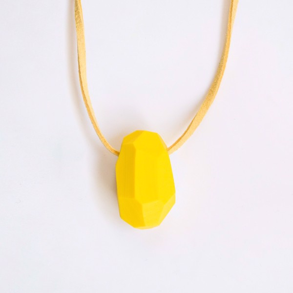 Picture of Lemon Necklace 'Stones'