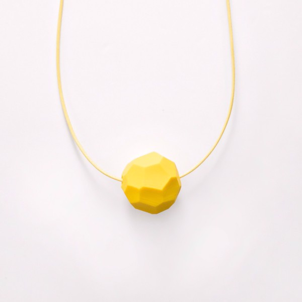 Picture of Small Lemon Necklace 'Stones'