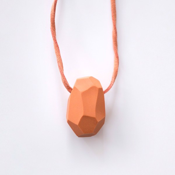 Picture of Pumpkin Necklace 'Stones'