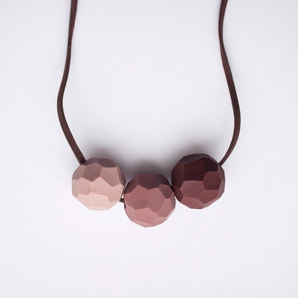 Picture of Cappuccino Necklace 'Builder'