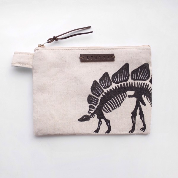 Picture of Dino Zipper Pouch
