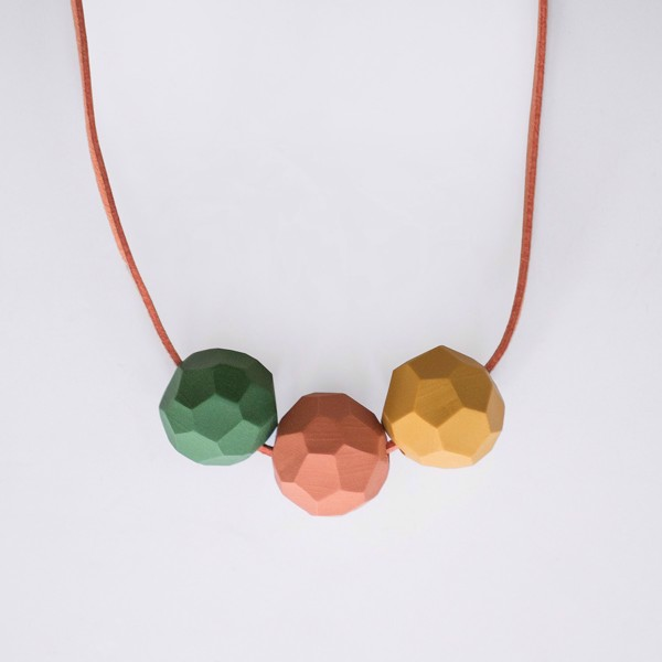 Picture of Mandarine Necklace 'Builder'