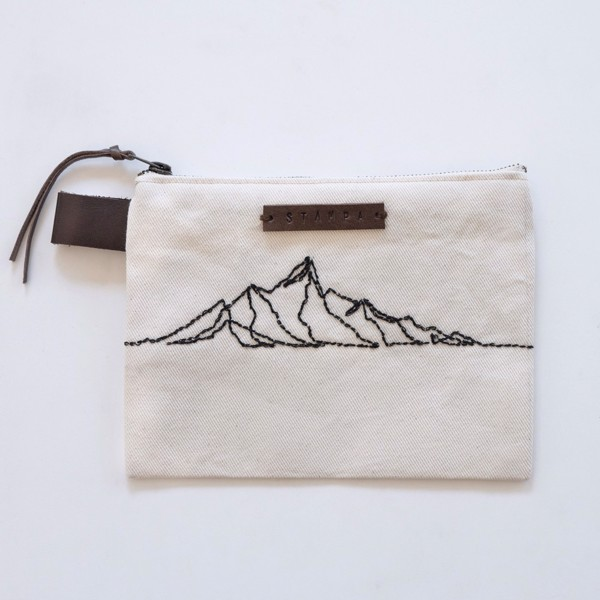 Picture of Alps Embroidery Zipper Pouch
