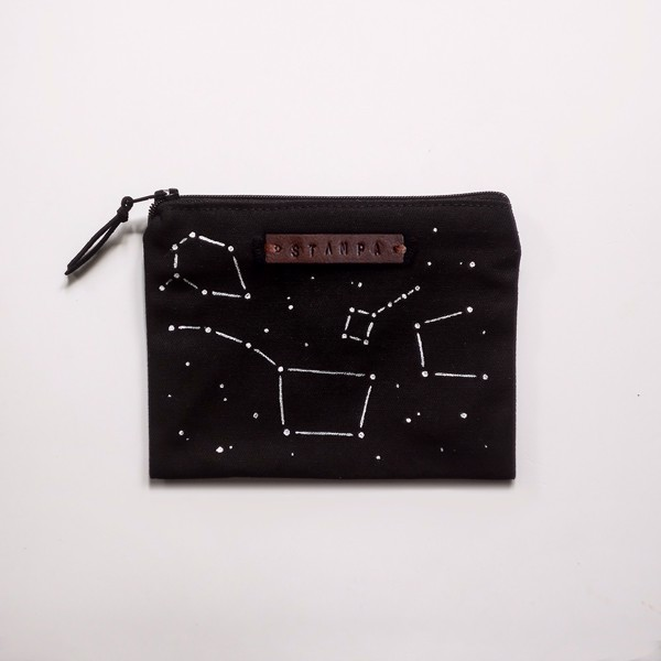 Picture of Small Constellations Zipper Pouch