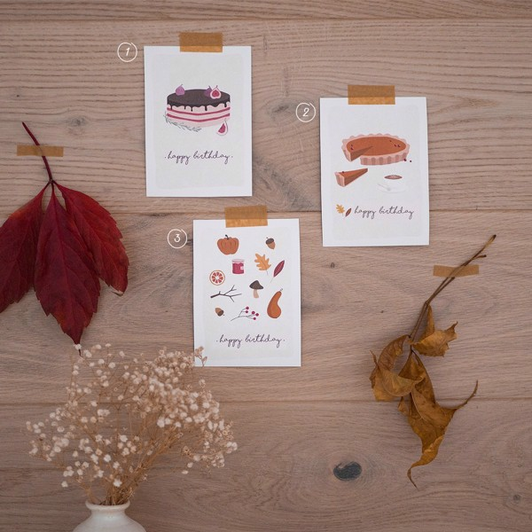 Picture of Set of 3 Greeting Cards